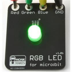 MonkMakes RGB-LED till BBC micro:bit