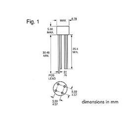 Likriktarbrygga W01G, 100 Volt 1.5 Ampere