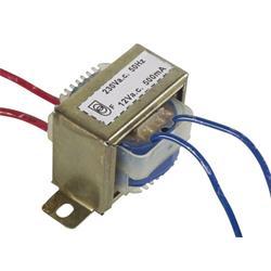 Transformator, 230 V till 1 x 12 V, 500 mA, 6 VA