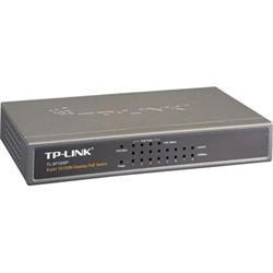 Nätverksswitch, 8-ports 10/100 Mbps, PoE