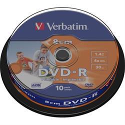 Verbatim DVD-R 8cm, 4x, 1,46GB/30min