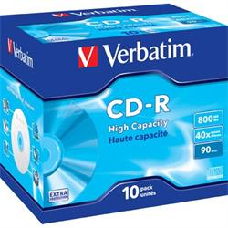 Verbatim CD-R, 40x, 800MB/90min