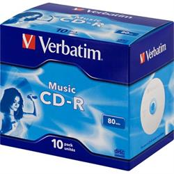 Verbatim Music CD-R, 16x, 700MB/80min