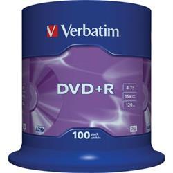 Verbatim DVD+R, 16x, 4,7GB/120min