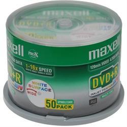 Maxell DVD+R, 1-16x, 4,7GB/120min