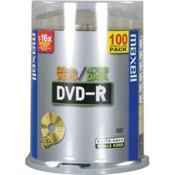 Maxell DVD-R 100-pack spindel 4.7GB 16X