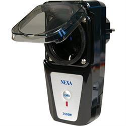 NEXA LGDR-3500, fjärrstyrd strömbrytare för utomhusbruk