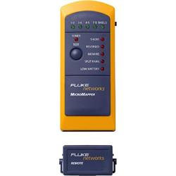 Fluke MicroMapper, kabeltester för RJ45