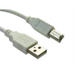 Sandberg Anslutningskabel till USB 2.0 A-B, 5 meter