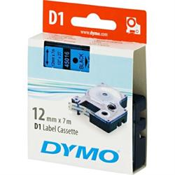 DYMO D1, märktejp, 12 mm, 7 meter