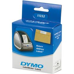 DYMO LabelWriter vita returadressetiketter