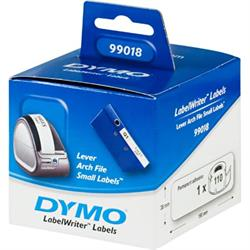 DYMO LabelWriter vita arkiveringsetiketter