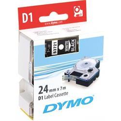 DYMO D1, märktejp, 24 mm, 7 meter