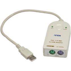 Adapter, PS/2 mus och tangentbord mot USB-port