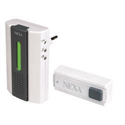 NEXA trådlös dörrklocka, kit med sändare