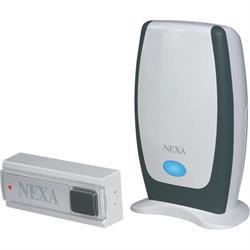 NEXA MLR-1105 trådlös dörrklocka, kit med sändare