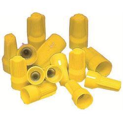 Toppklämma, gul, 0,5-4,0 mm²