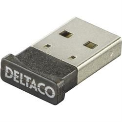 DELTACO Bluetooth nano-adapter, USB 2.0 Version 4.0