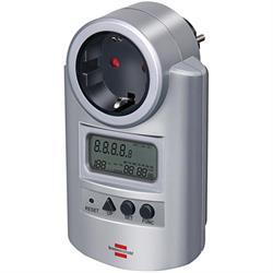 El-mätare, mäter watt och volt samt driftskostnad