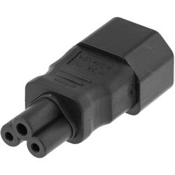 Strömadapter, IEC C14 till IEC C5