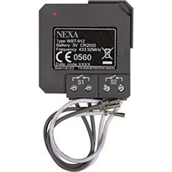 NEXA WBT-912, trådlös 2-kanals sändare