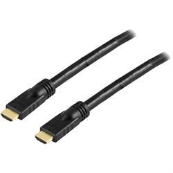 DELTACO HDMI-kabel, aktiv, 15 meter