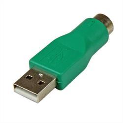 PS/2-mus till USB-ersättningsadapter - F/M