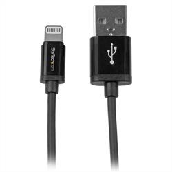 Apple Lightning-kontakt till USB A hane, 0.3 meter, synk & laddkabel