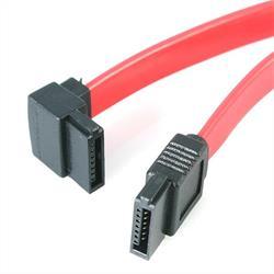 45 cm SATA till vänstervinklad SATA seriell ATA-kabel