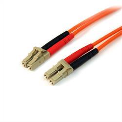 15 m 50/125 multiläges Duplex fiberpatchkabel LC - LC