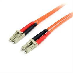 5 m 62,5/125 multiläges Duplex fiberpatchkabel LC - LC