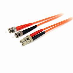 1 m 62,5/125 multiläges Duplex-fiberpatchkabel LC - ST