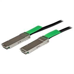 2m QSFP+ 40-Gigabit Ethernet (40GbE) passiv direct attach twinaxkabel av koppar