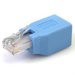 Cisco konsol rollover-adapter för RJ45 Ethernet-kabel M/F