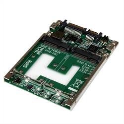 Dubbel mSATA SSD till 2,5