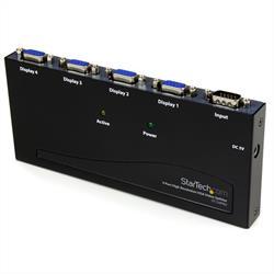 Högupplöst 350MHz video-splitter med 4 portar