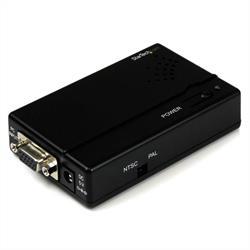 Högupplöst VGA till kompositvideo (RCA) eller S-video-konverterare - PC till TV