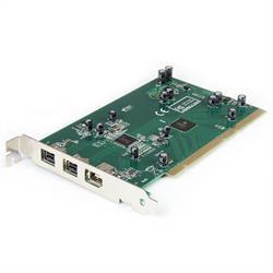 3-portars PCI 1384B Firewire 600-kort