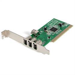 PCI 1394a FireWire-kortadapter med 4 portar – 3 externa 1 intern