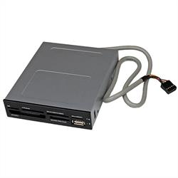22-i-1 USB 2.0 intern multimedia-minneskortläsare för 3,5