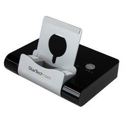 USB 3.0-hubb med 3 portar + snabbladdningsport, svart