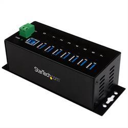 Industriell USB 3.0-hub med 7 portar - ESD- och överspänningsskydd