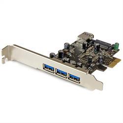PCI Express USB 3.0-kort med 4 portar