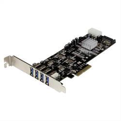 PCI Express USB 3.0-kortadapter med 4 portar