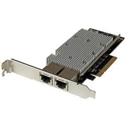 PCI Express 10GBase-T Ethernet-nätverkskort med 2 portar - med Intel X540-chip