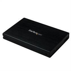 """2,5"""" USB 3.0 extern SATA III SSD hårddiskkabinett i aluminium med UASP för SATA 6Gbps - Bärbar extern HDD"""