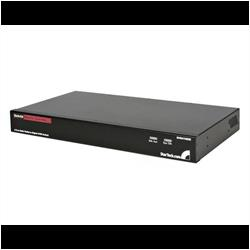 Hyllmonterad USB PS/2 Digital IP KVM-switch med 8 portar