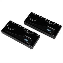 USB VGA KVM konsolförlängare över CAT5 UTP (150 m)