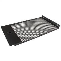 Ventilerad svängbar blindpanel för serverhyllor - 6U