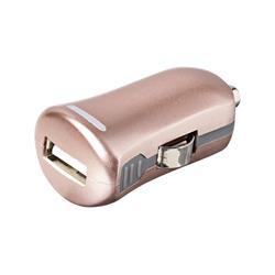 eSTUFF Allure USB-laddare till bilen, 1 Ampere, Rose Gold